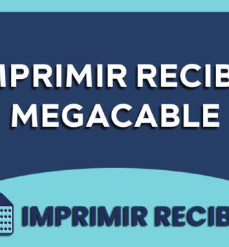 imprimir recibo megacable