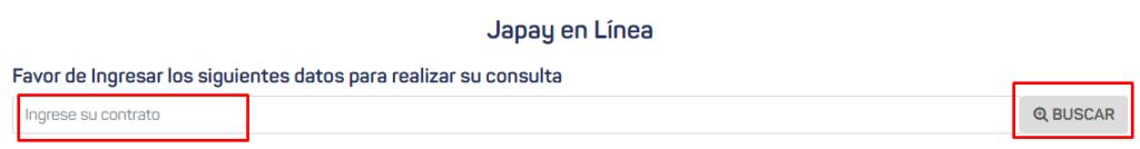 pago en linea japay