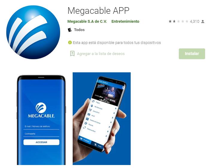app de megacable