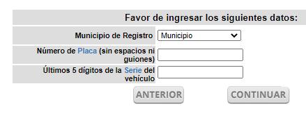 ingresar datos formulario tenencia